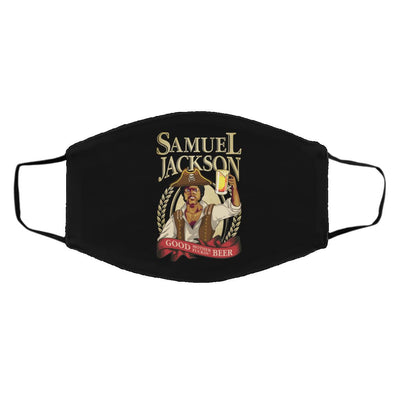 Sam Jackson Beer Face Mask (ear loops)