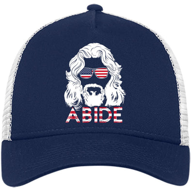 USA Abide Trucker Hat