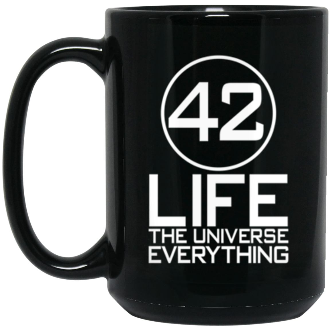 Drinkware - 42 Mug 15oz (2-sided)