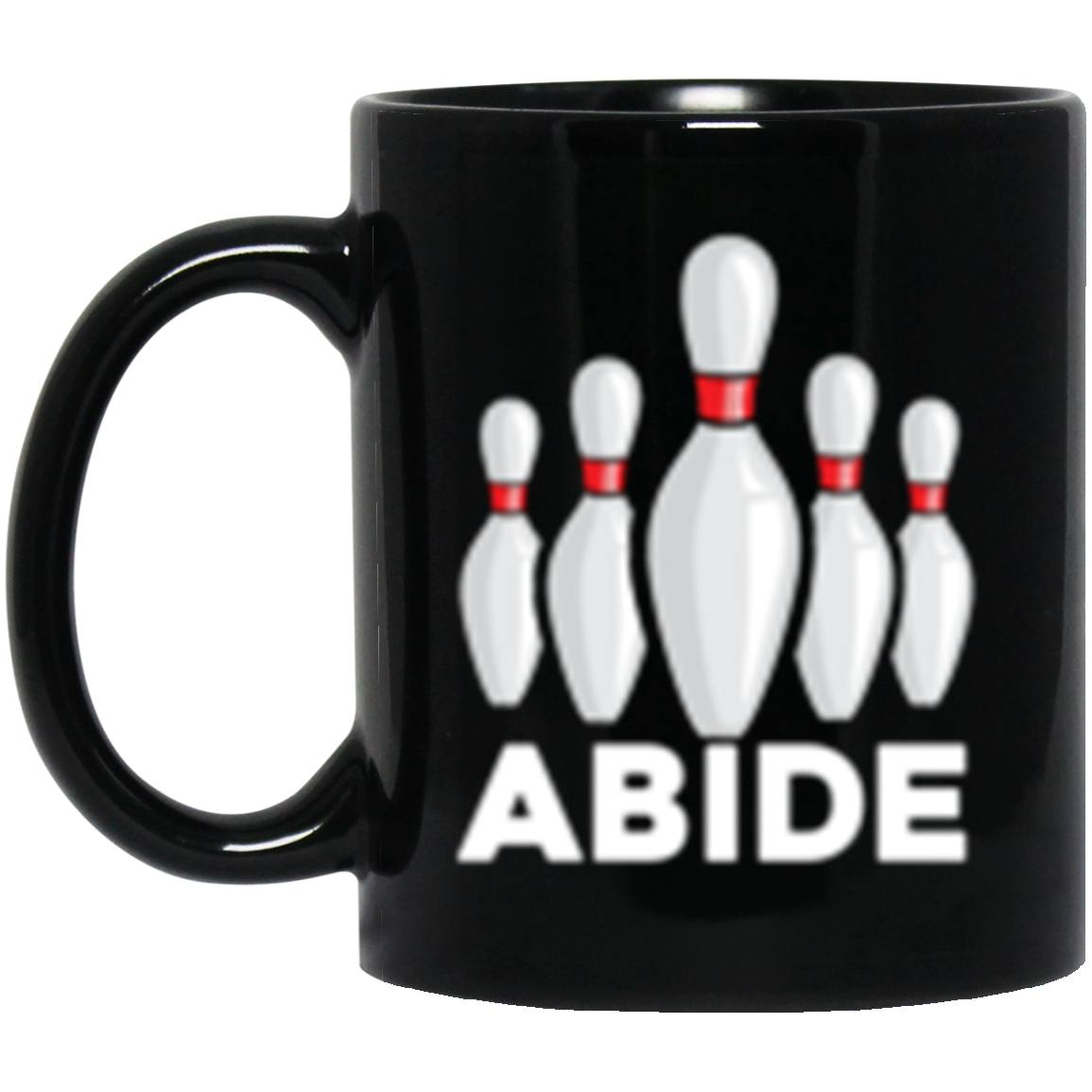 Drinkware - Abide Pins Black Mug 11oz (2-sided)