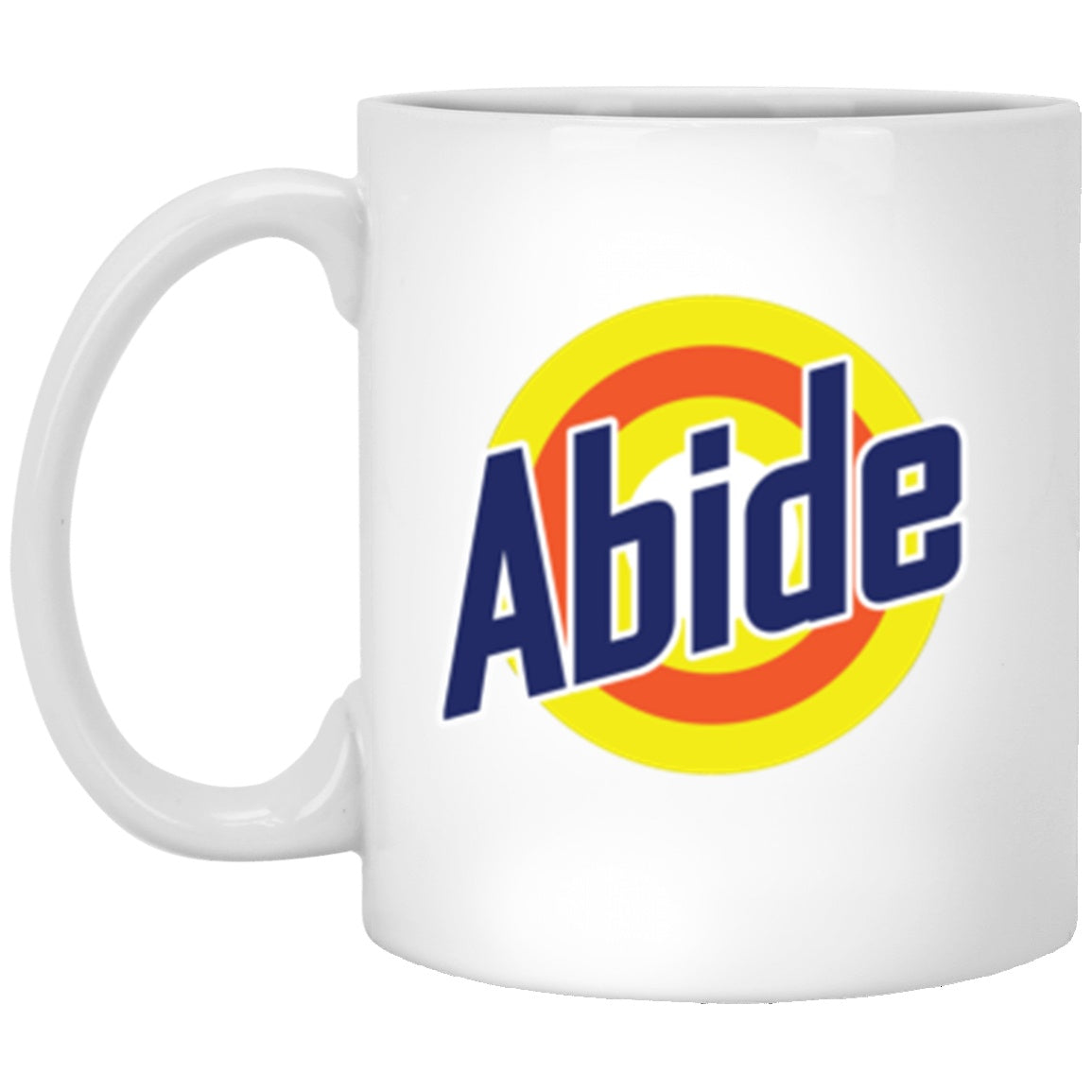 Drinkware - Abide Tide White Mug 11oz (2-sided)
