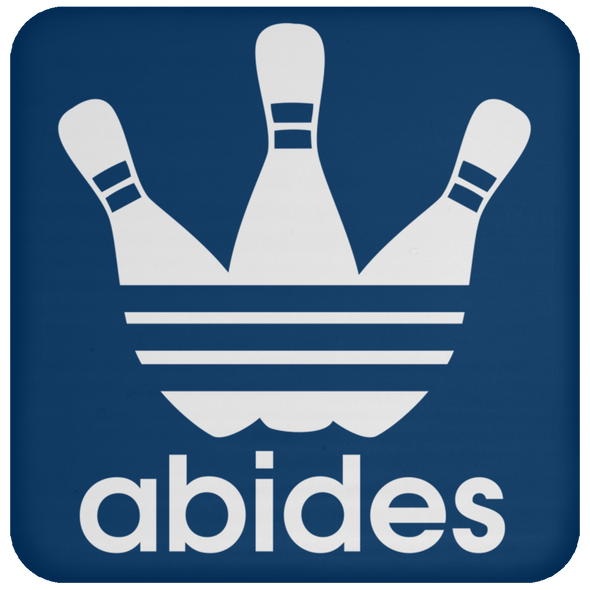 Drinkware - Abides (not Adidas) Coaster