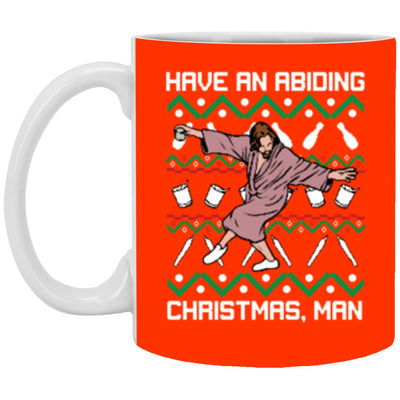 Drinkware - Abiding Christmas White Mug 11oz (2-sided)