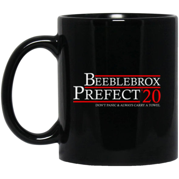 Drinkware - Beeblebrox Prefect 20 Black Mug 11oz (2-sided)