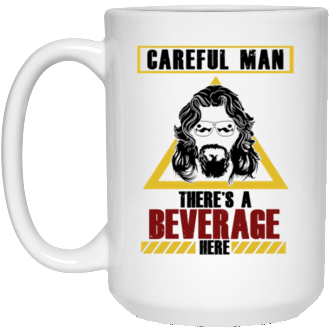 Drinkware - Beverage Here 2 White Mug 15oz (2-sided)
