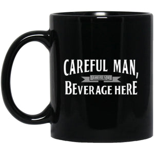 Drinkware - Beverage Here Mug 11oz (2-sided)