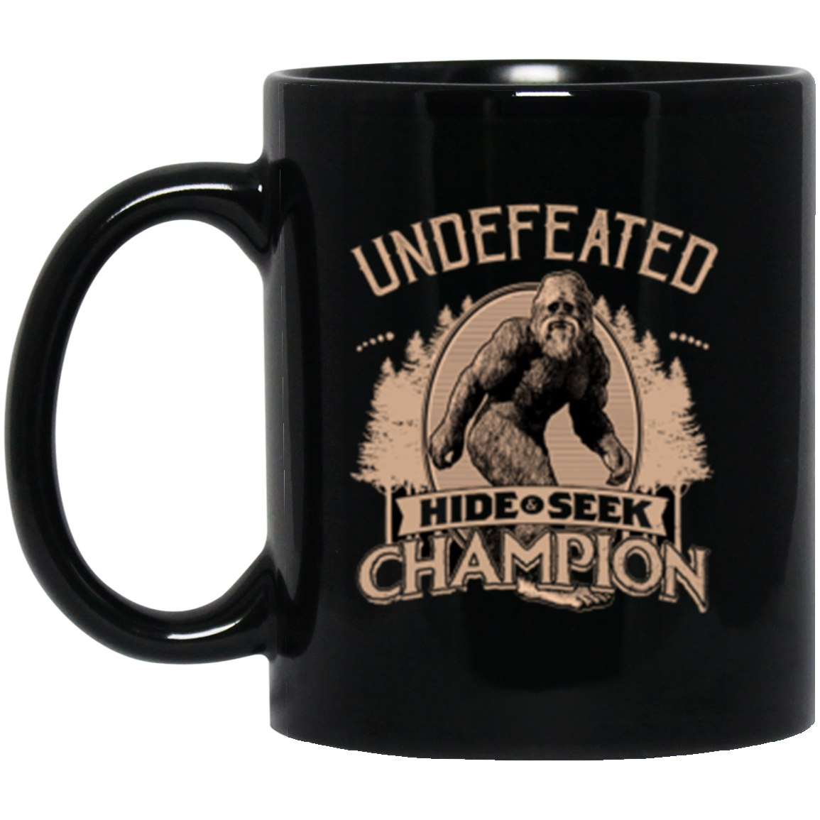 Drinkware - Bigfoot Hide And Seek Champ Mug 11oz (2-sided)