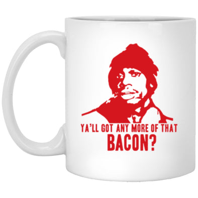 Drinkware - Biggums Bacon White Mug 11oz (2-sided)