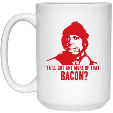 Drinkware - Biggums Bacon White Mug 15oz (2-sided)