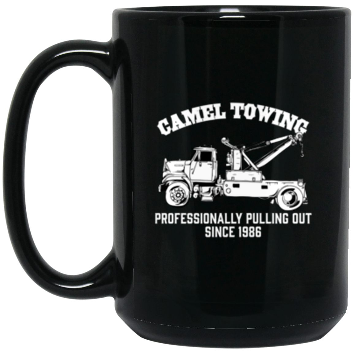 Drinkware - Camel Towing Mug 15oz (2-sided)