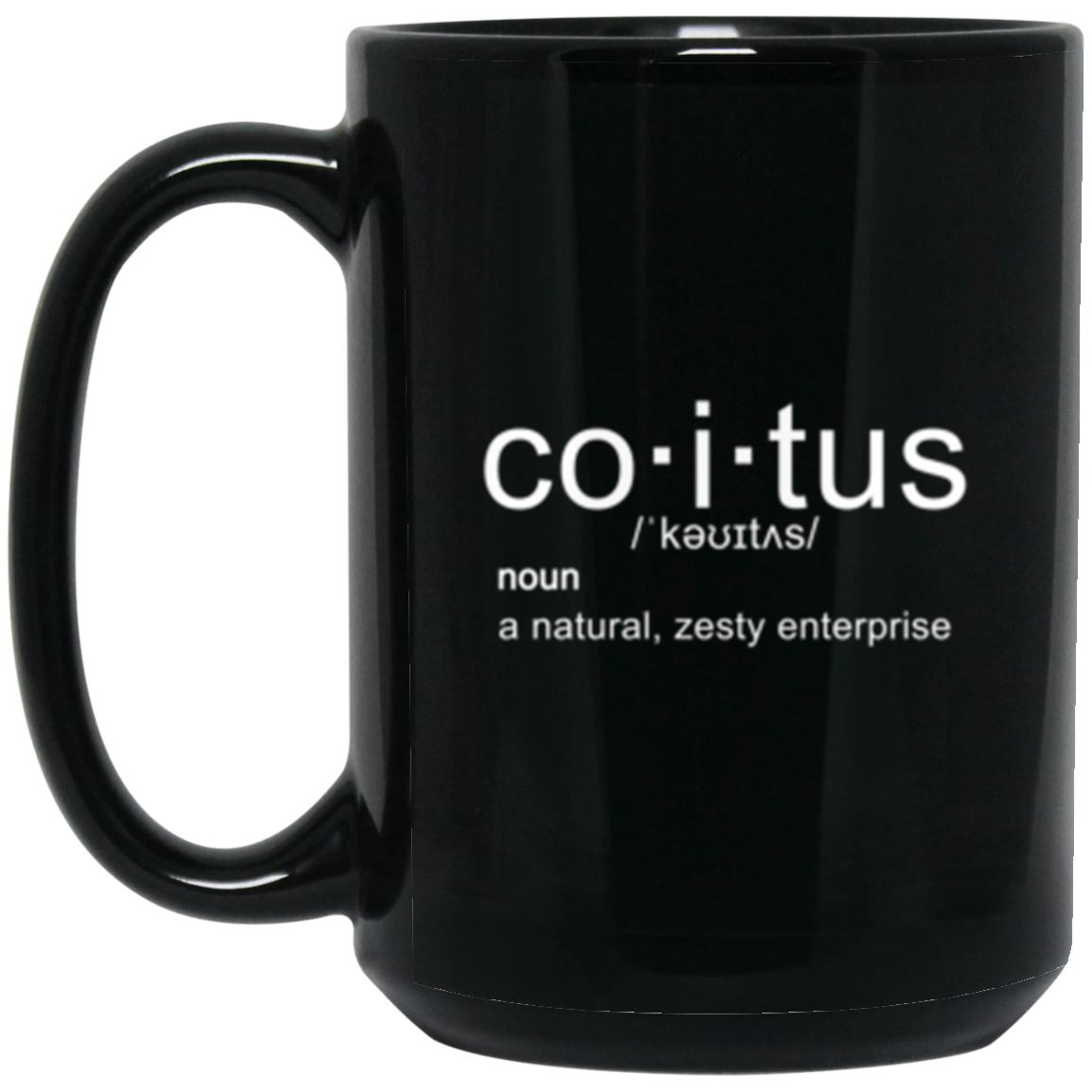 Drinkware - Coitus Mug 15oz (2-sided)
