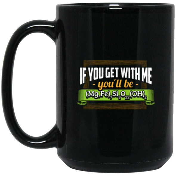 Drinkware - Cummingtonite Black Mug 15oz (2-sided)