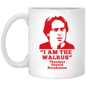 Drinkware - Donny The Walrus White Mug 11oz (2-sided)