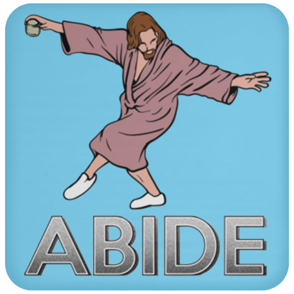 Drinkware - Dude Abide Post Coaster
