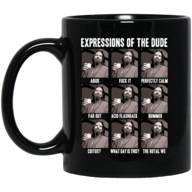 Drinkware - Dude Expressions Mug 11oz (2-sided)