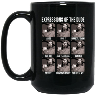 Drinkware - Dude Expressions Mug 15oz (2-sided)