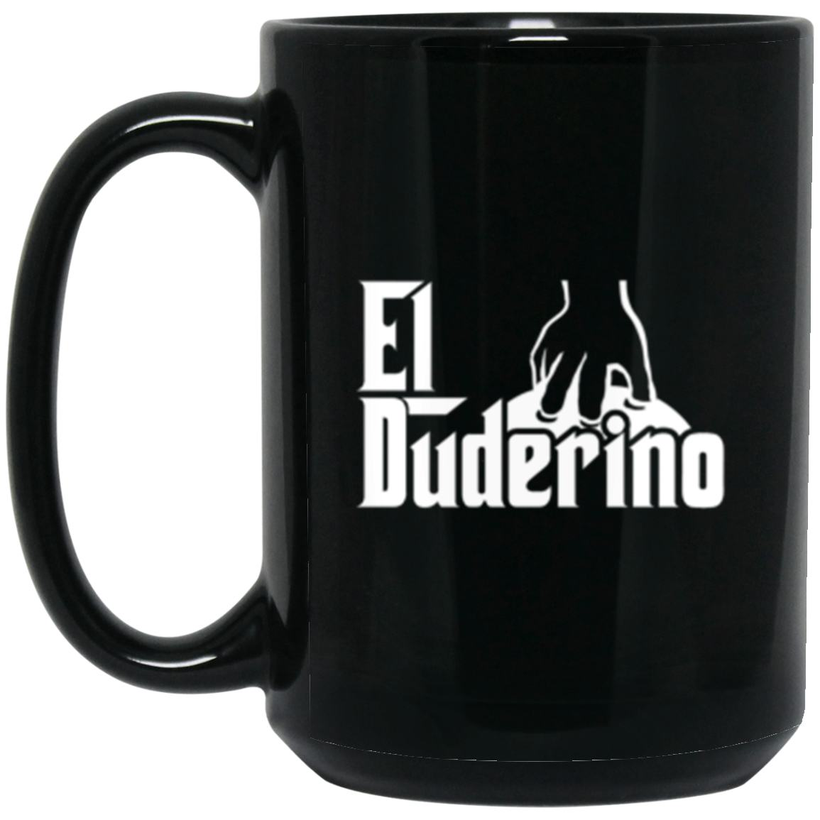 Drinkware - El Duderino Godfather Mug 15oz (2-sided)
