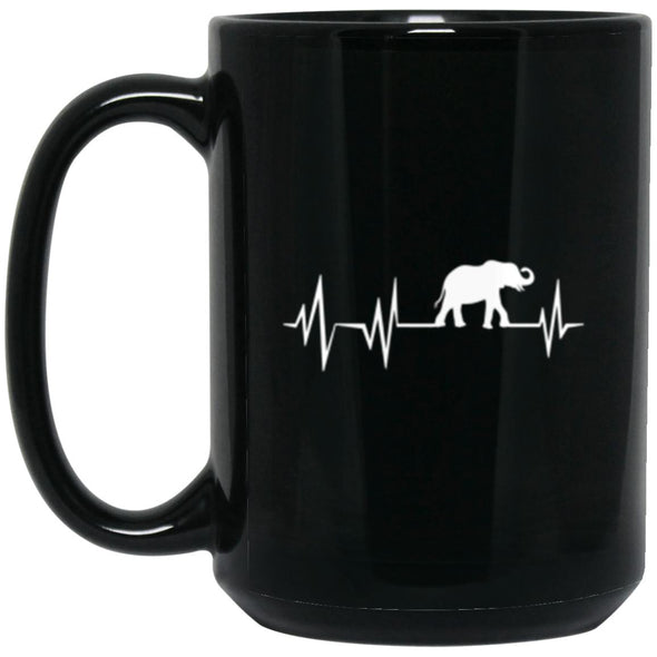 Drinkware - Elephant Beat Mug 15oz (2-sided)