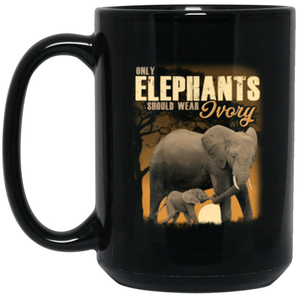 Drinkware - Elephant Ivory Mug 15oz (2-sided)