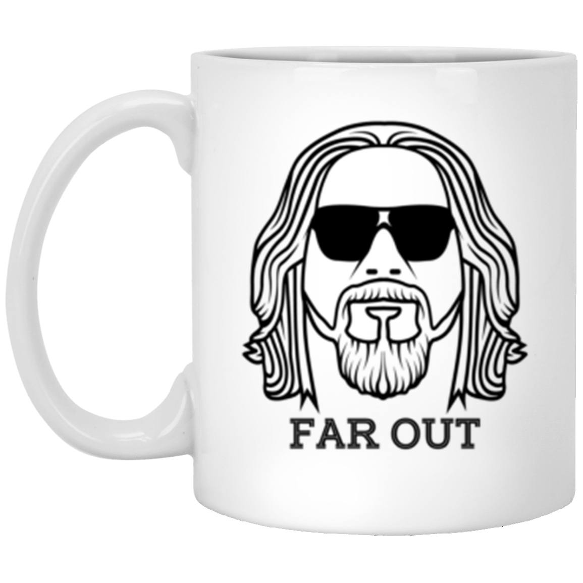 Drinkware - Far Out White Mug 11oz (2-sided)