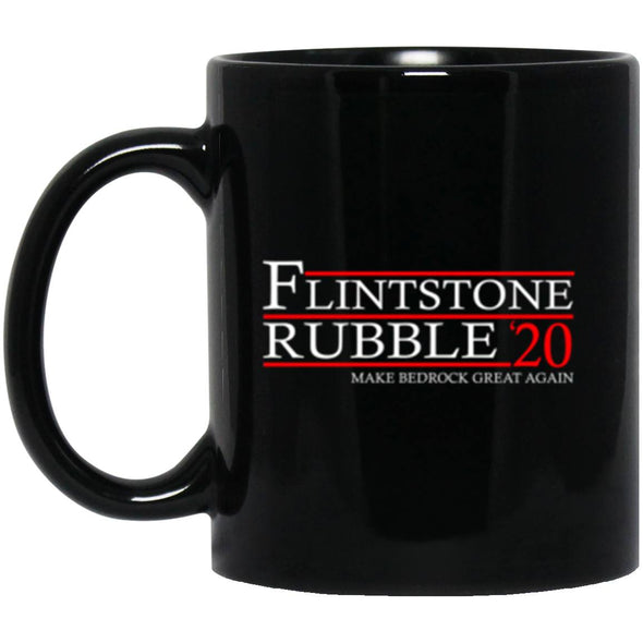 Drinkware - Flintstone Rubble 20 Black Mug 11oz (2-sided)