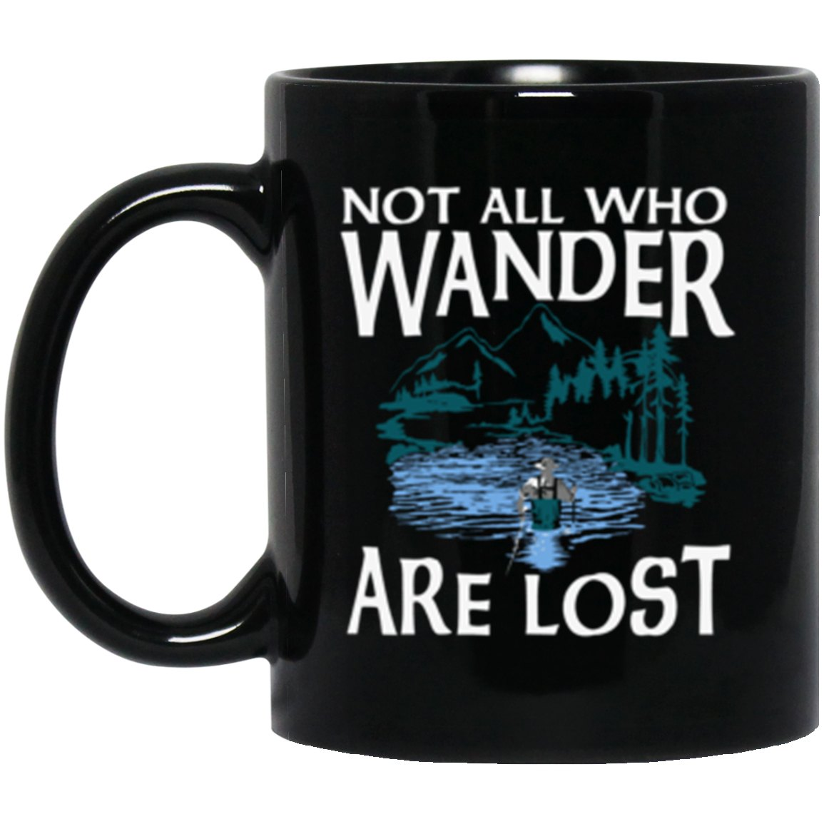 Drinkware - Fly Wander Mug 11oz (2-sided)