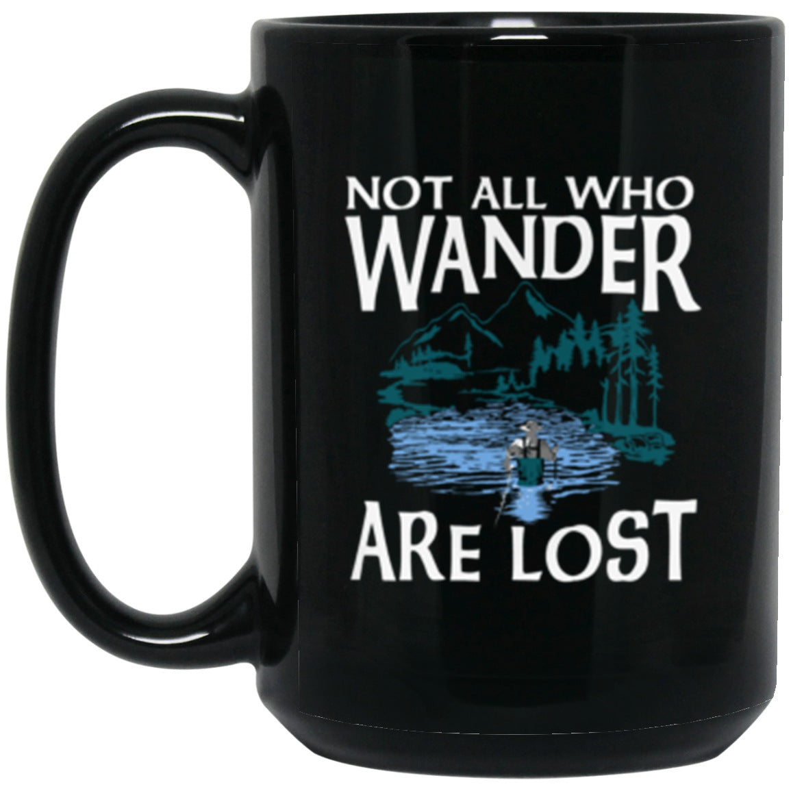 Drinkware - Fly Wander Mug 15oz (2-sided)