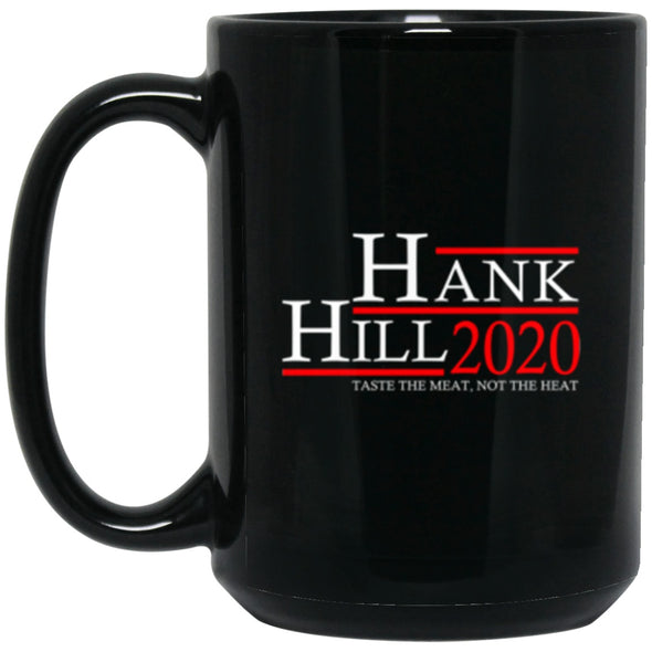 Drinkware - Hank Hill 20 Black Mug 15oz (2-sided)