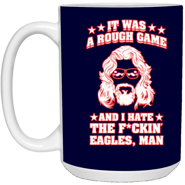 Drinkware - Hate The Eagles White Mug 15oz (2-sided)