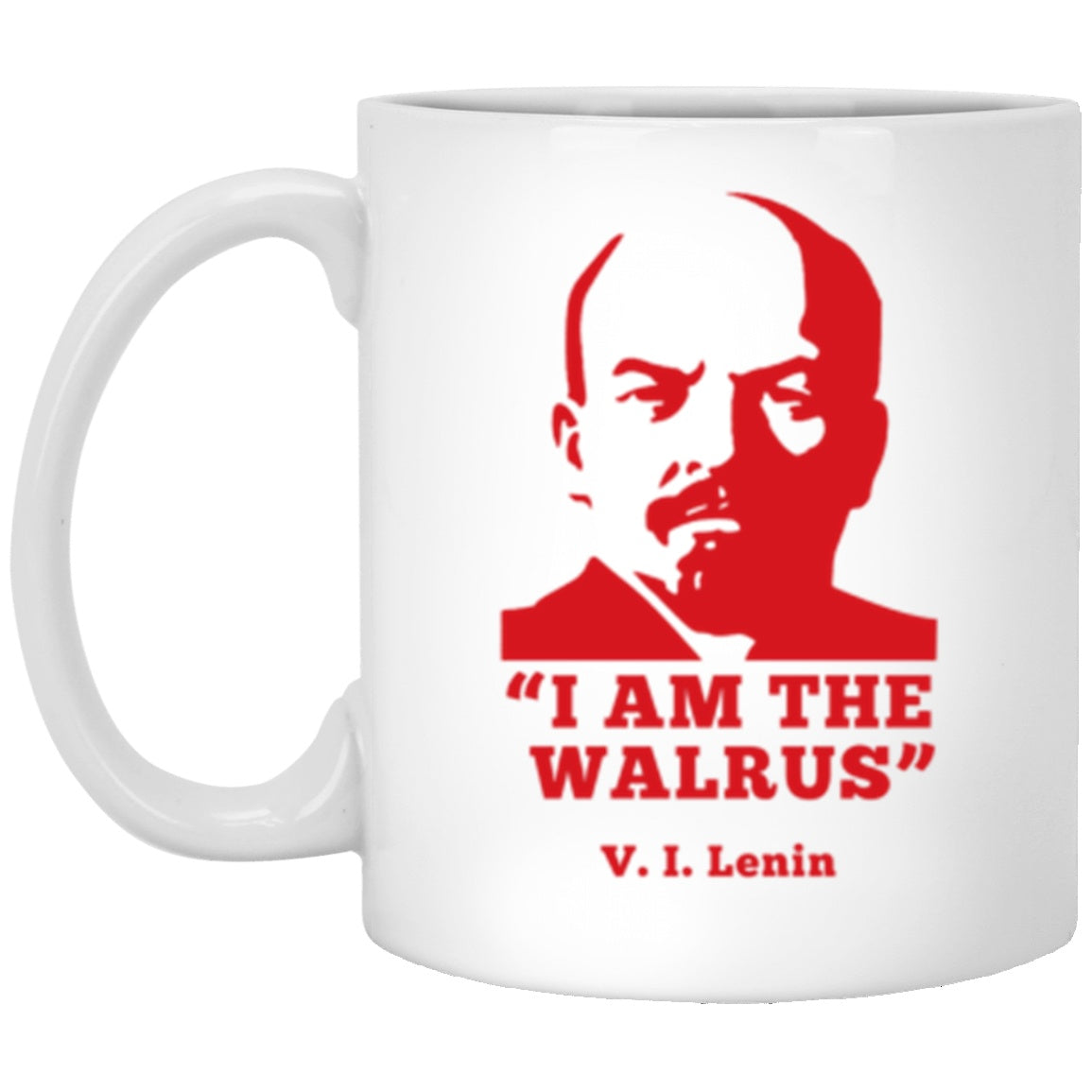 Drinkware - I Am The Walrus White Mug 11oz (2-sided)
