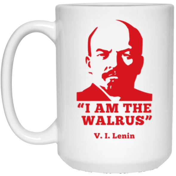 Drinkware - I Am The Walrus White Mug 15oz (2-sided)