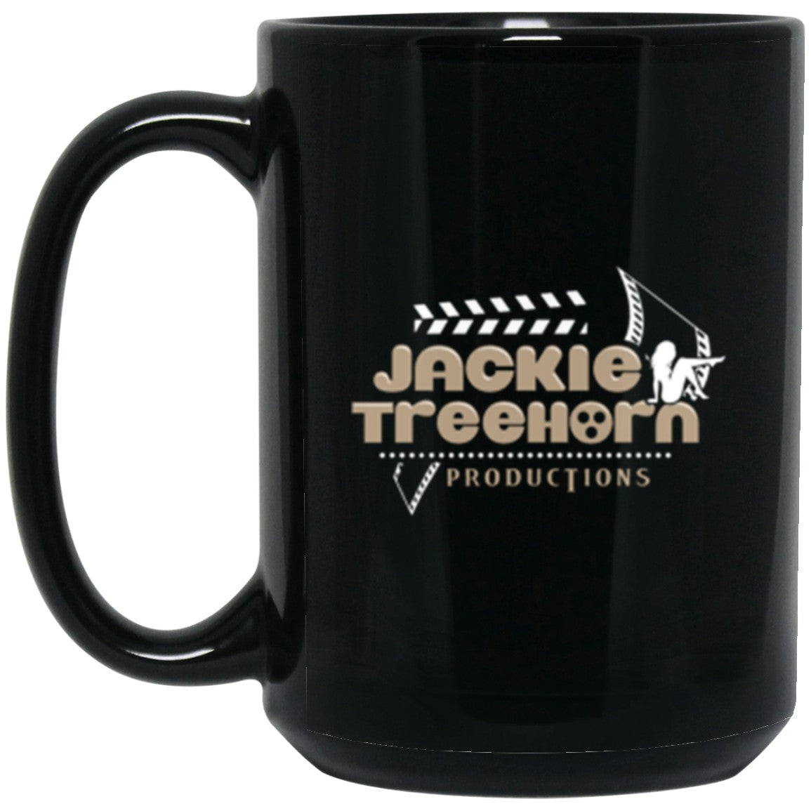 Drinkware - Jackie Treehorn Productions Mug 15oz (2-sided)