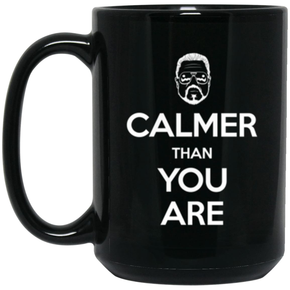 Drinkware - Keep Calmer Mug 15oz (2-sided)