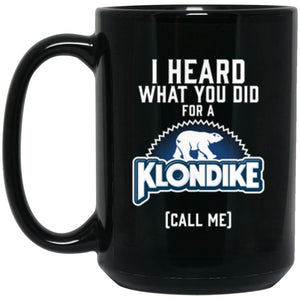 Drinkware - Klondike Logo Mug 15oz (2-sided)