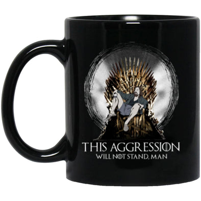 Drinkware - Lebowski Iron Throne Mug 11oz (2-sided)