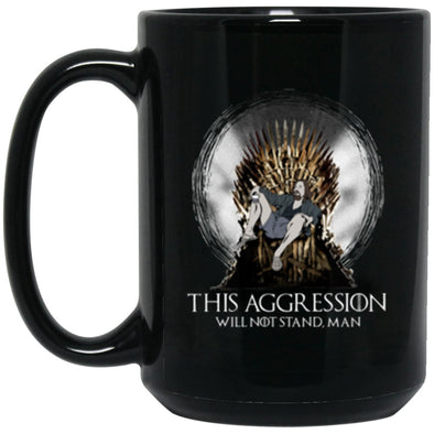 Drinkware - Lebowski Iron Throne Mug 15oz (2-sided)