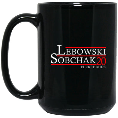 Drinkware - Lebowski Sobchak 20 Mug 15oz (2-sided)