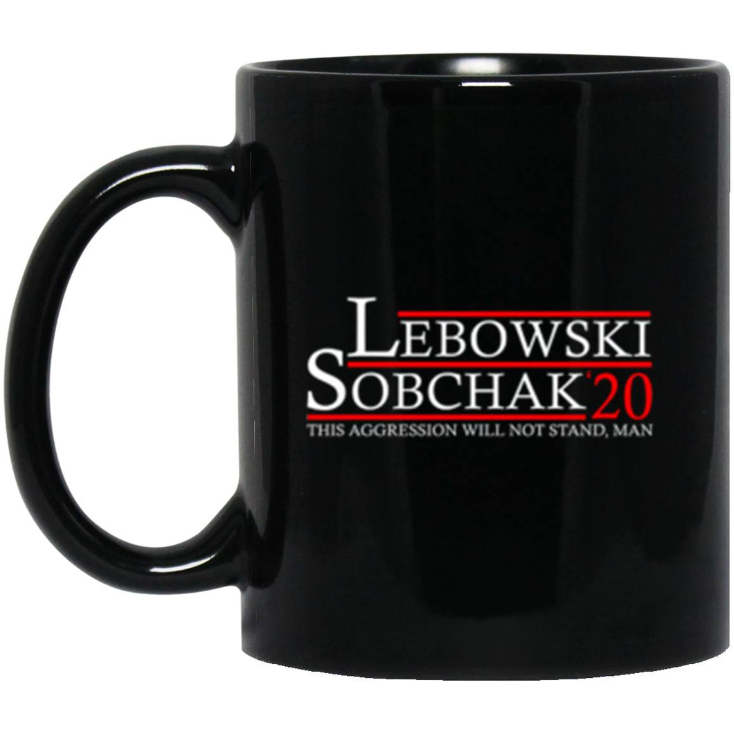 Drinkware - Lebowski Sobchak 20 (New) Mug 11oz (2-sided)