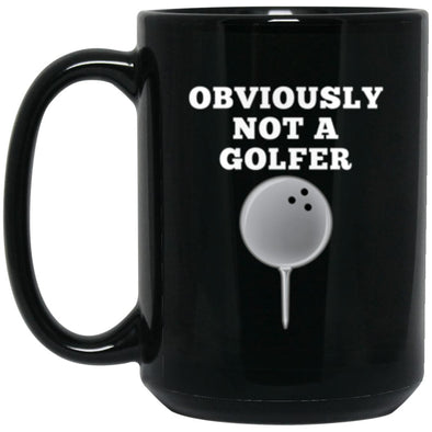 Drinkware - Not A Golfer Mug 15oz (2-sided)