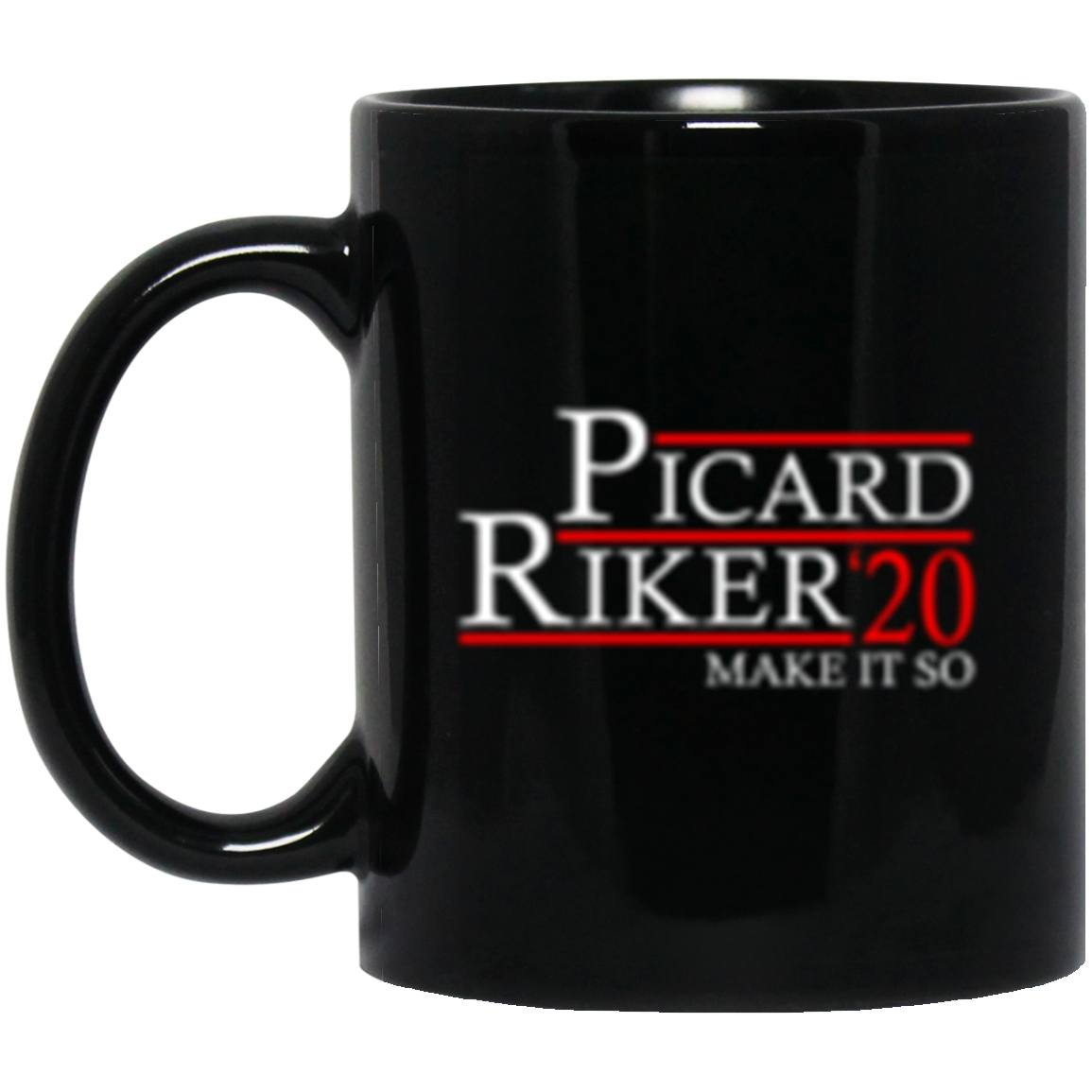 Drinkware - Picard Riker 2020 Mug 11oz (2-sided)