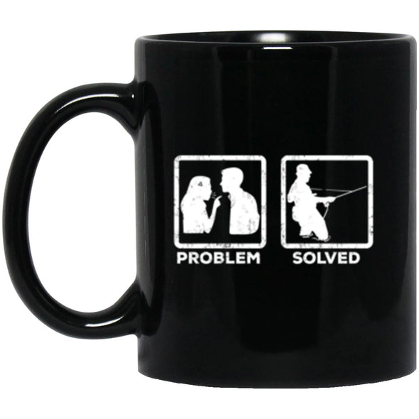 Drinkware - Problem Solved Fly Mug 11oz (2-sided)
