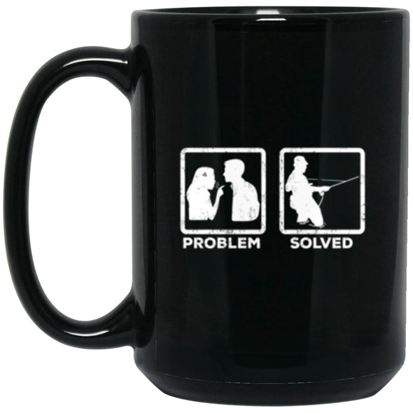 Drinkware - Problem Solved Fly Mug 15oz (2-sided)