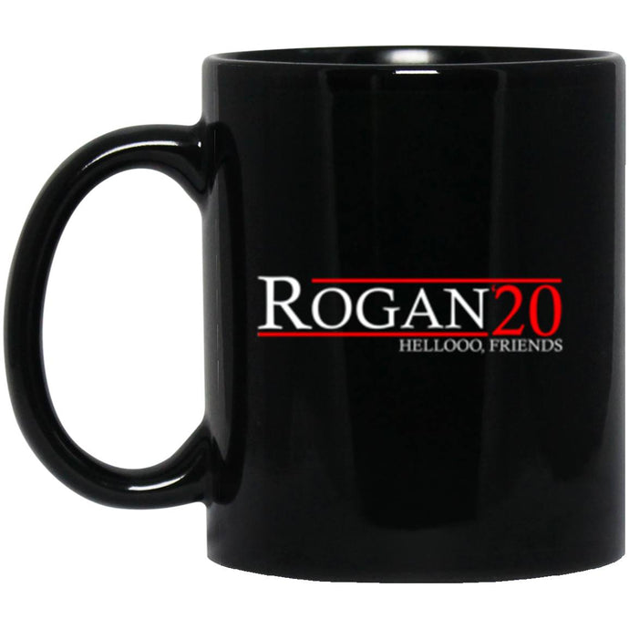 Drinkware - Rogan 20 Black Mug 11oz (2-sided)
