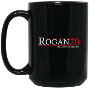 Drinkware - Rogan 20 Black Mug 15oz (2-sided)