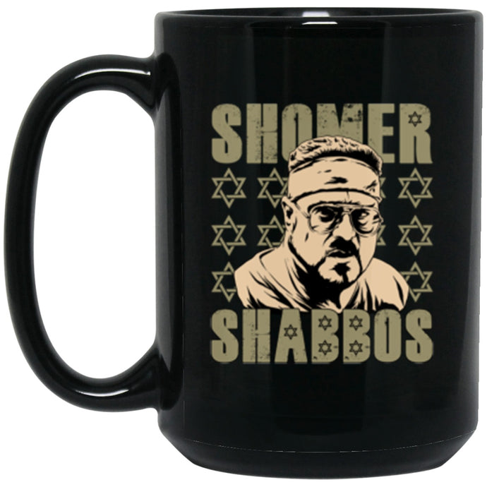 Drinkware - Shomer Shabbos Mug 15oz (2-sided)