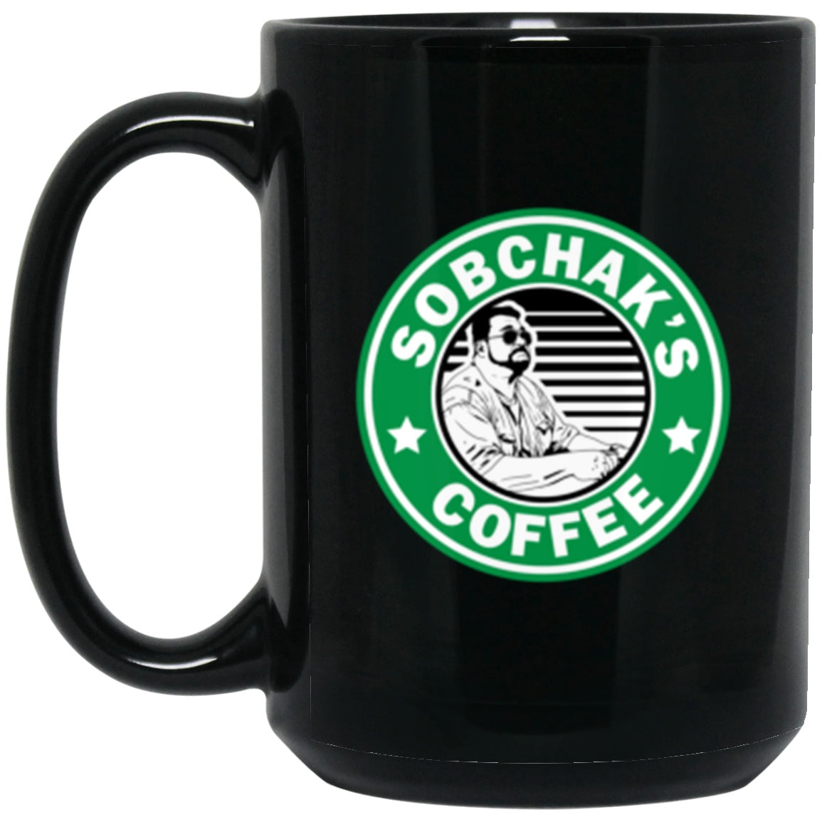 Drinkware - Sobchak's Coffee Mug 15oz (2-sided)