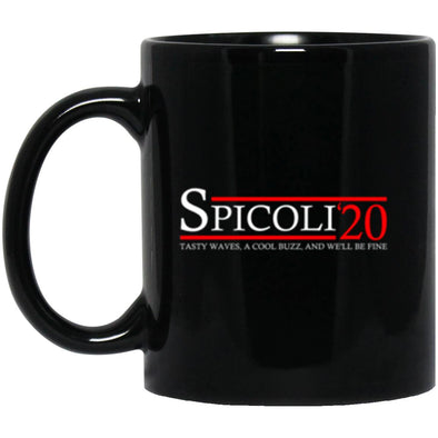 Drinkware - Spicoli 20 Black Mug 11oz (2-sided)