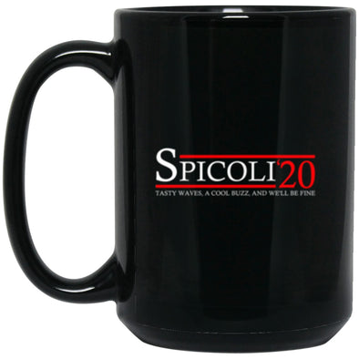 Drinkware - Spicoli 20 Black Mug 15oz (2-sided)