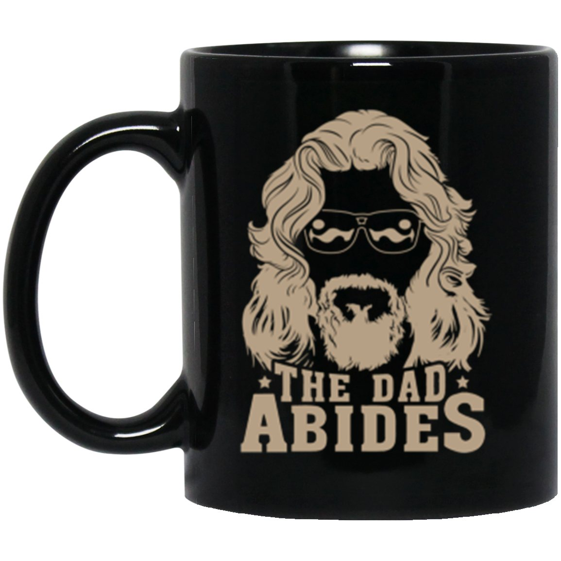 Drinkware - The Dad Abides Mug 11oz (2-sided)