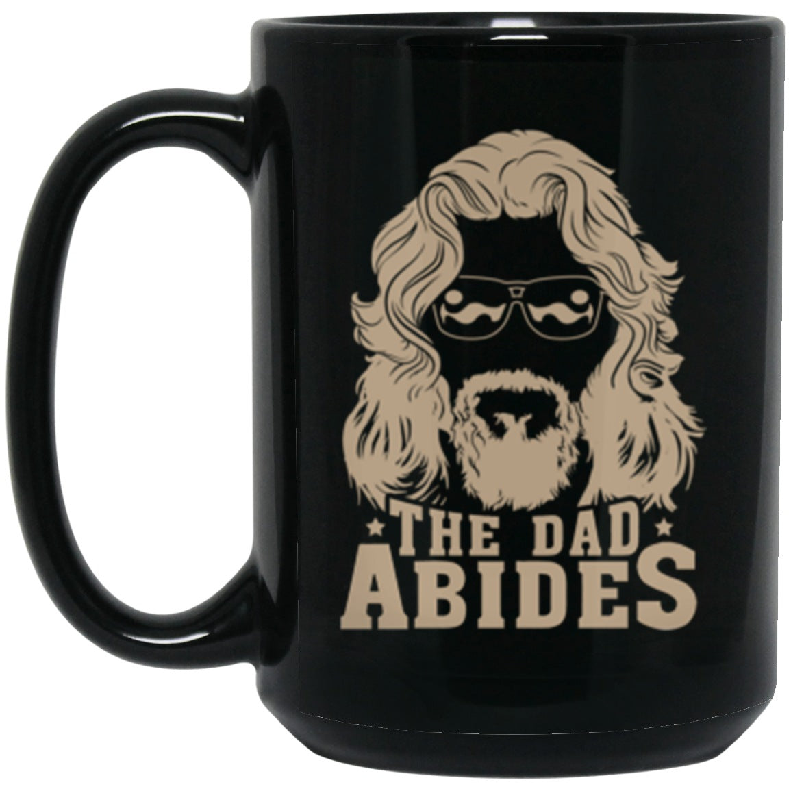 Drinkware - The Dad Abides Mug 15oz (2-sided)